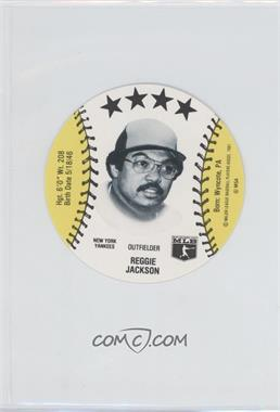 1981 MSA Discs #REJA - Reggie Jackson