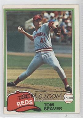1981 O-Pee-Chee - [Base] #220 - Tom Seaver
