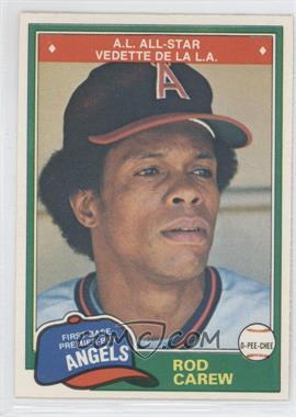 1981 O-Pee-Chee #100 - Rod Carew