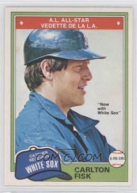 1981 O-Pee-Chee #116 - Carlton Fisk