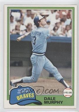 1981 O-Pee-Chee #118 - Dale Murphy