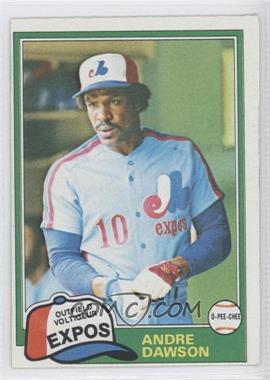 1981 O-Pee-Chee #125 - Andre Dawson