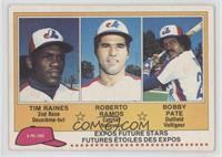 Tim Raines, Roy Radebaugh, Bob Pate, Robert Randolph