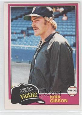 1981 O-Pee-Chee #315 - Kirk Gibson