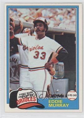 1981 O-Pee-Chee #39 - Eddie Murray