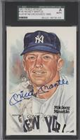Mickey Mantle [SGC AUTHENTIC] #/10,000