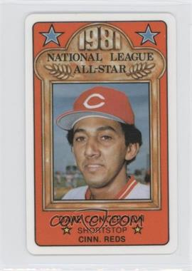 1981 Perma-Graphics/Topps Credit Cards - All-Stars #150-ASN8102 - Dave Concepcion
