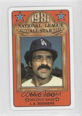 1981 Perma-Graphics/Topps Credit Cards - All-Stars #150-ASN8105 - Davey Lopes