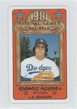 1981 Perma-Graphics/Topps Credit Cards - All-Stars #150-ASN8109 - Fernando Valenzuela