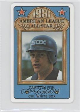 1981 Perma-Graphics/Topps Credit Cards - All-Stars #150-ASN8113 - Carlton Fisk