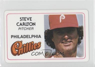 1981 Perma-Graphics/Topps Credit Cards - [Base] #125-016 - Steve Carlton
