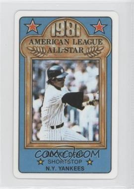 1981 Perma-Graphics/Topps Credit Cards All-Stars #150-ASA8112 - Bucky Dent