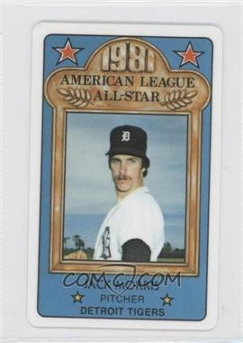 1981 Perma-Graphics/Topps Credit Cards All-Stars #150-ASA8115 - Jack Morris