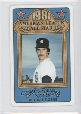 1981 Perma-Graphics/Topps Credit Cards All-Stars #150-ASA8115 - Jack Morris