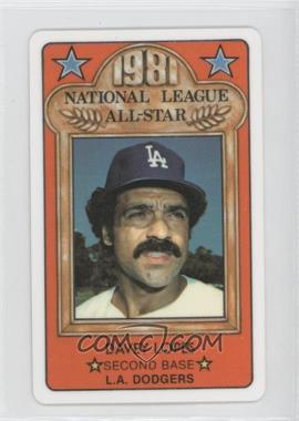 1981 Perma-Graphics/Topps Credit Cards All-Stars #150-ASN8105 - Davey Lopes