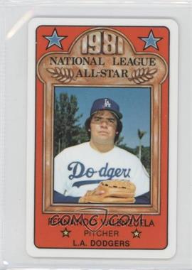 1981 Perma-Graphics/Topps Credit Cards All-Stars #150-ASN8109 - Fernando Valenzuela