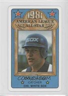 1981 Perma-Graphics/Topps Credit Cards All-Stars #150-ASN8113 - Carlton Fisk