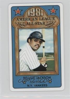1981 Perma-Graphics/Topps Credit Cards All-Stars #150-ASN8114 - Reggie Jackson