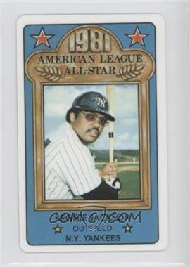 1981 Perma-Graphics/Topps Credit Cards All-Stars #150-ASN8114 - Reggie Jackson