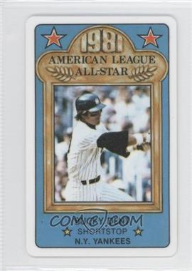1981 Perma-Graphics/Topps Credit Cards All-Stars #20 - Bucky Dent