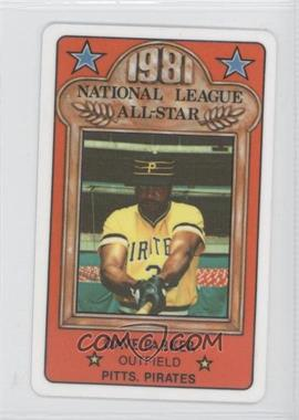 1981 Perma-Graphics/Topps Credit Cards All-Stars #39 - Dave Parker