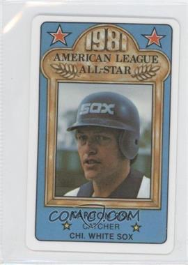 1981 Perma-Graphics/Topps Credit Cards All-Stars #N/A - Carlton Fisk