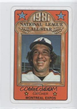 1981 Perma-Graphics/Topps Credit Cards All-Stars #N/A - Gary Carter