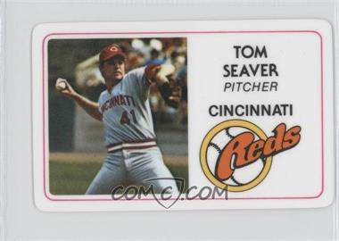 1981 Perma-Graphics/Topps Credit Cards #011 - Tom Seaver