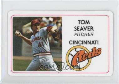 1981 Perma-Graphics/Topps Credit Cards #011 - Tom Seaver