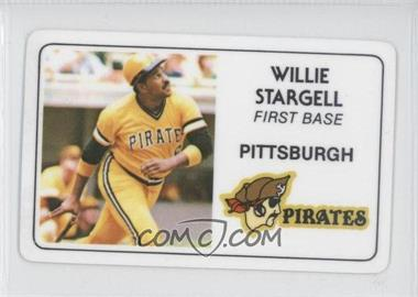 1981 Perma-Graphics/Topps Credit Cards #014 - Willie Stargell