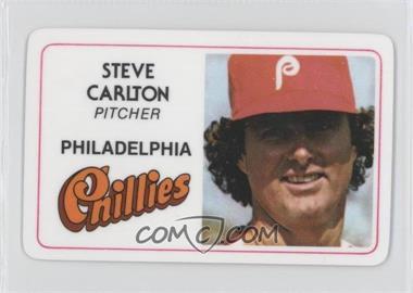 1981 Perma-Graphics/Topps Credit Cards #016 - Steve Carlton