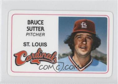 1981 Perma-Graphics/Topps Credit Cards #024 - Bruce Sutter