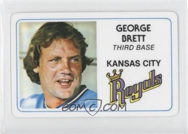 1981 Perma-Graphics/Topps Credit Cards #125-003 - George Brett