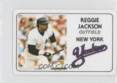 1981 Perma-Graphics/Topps Credit Cards #125-007 - Reggie Jackson