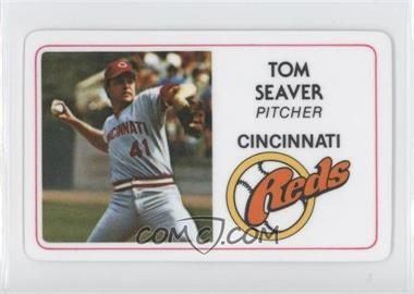 1981 Perma-Graphics/Topps Credit Cards #125-011 - Tom Seaver