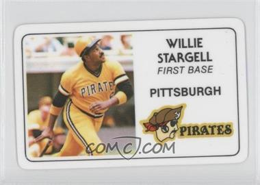 1981 Perma-Graphics/Topps Credit Cards #125-014 - Willie Stargell