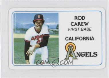 1981 Perma-Graphics/Topps Credit Cards #125-022 - Rod Carew
