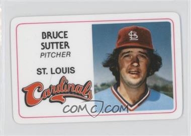 1981 Perma-Graphics/Topps Credit Cards #125-024 - Bruce Sutter