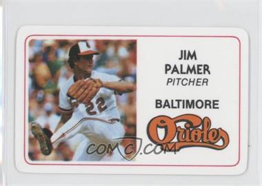 1981 Perma-Graphics/Topps Credit Cards #125-028 - Jim Palmer