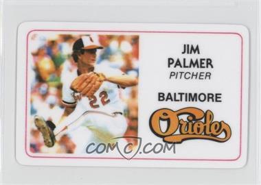 1981 Perma-Graphics/Topps Credit Cards #125-028 - Jim Palmer