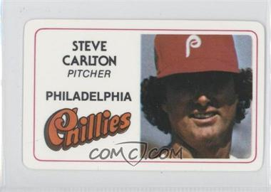 1981 Perma-Graphics/Topps Credit Cards #N/A - Steve Carlton