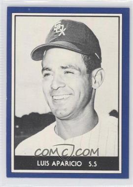 1981 TCMA 1959 Go-Go Chicago White Sox - [Base] #1981-3.1 - Luis Aparicio (Blue Border, Black & White Photo)