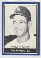Luis Aparicio (Blue Border, Black & White Photo)