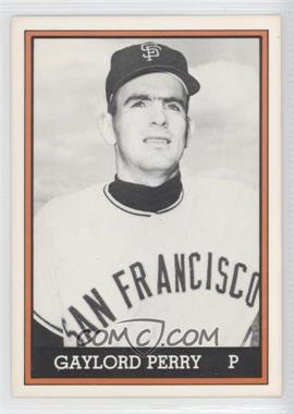 1981 TCMA 1962 San Francisco Giants National League Champions [???] Black and White #1981-021 - Gaylord Perry