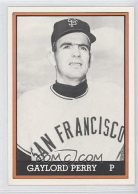 1981 TCMA 1962 San Francisco Giants National League Champions [???] Black and White #1981-N/A - Gaylord Perry