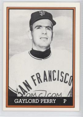 1981 TCMA 1962 San Francisco Giants National League Champions Black and White White Border #1981-021 - Gaylord Perry