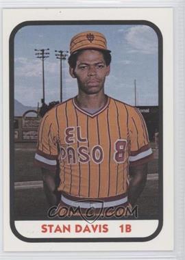 1981 TCMA Minor League - [Base] #905 - Stan Davis