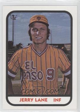1981 TCMA Minor League - [Base] #906 - Jerry Lane