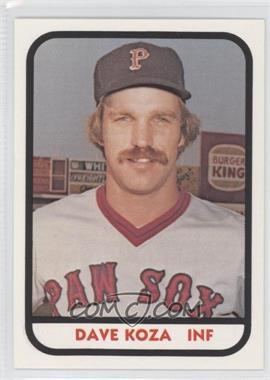 1981 TCMA Minor League [???] #1138 - Dave Koslo