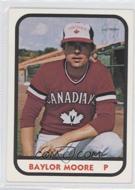 1981 TCMA Minor League #10 - Balor Moore